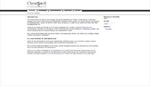 Chronowelt - Uhrendatenbank zur Preisrecherche
