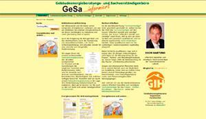 GeSa - Gebäudeenergieberatungs- und Sachverständigenbüro Hartung