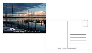 Postkarte DIN A6 - Segelclub Neumünster e.V.