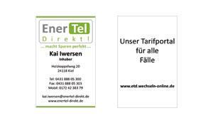 Visitenkarte - EnerTel Direkt