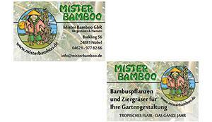 Visitenkarte - Mister Bamboo